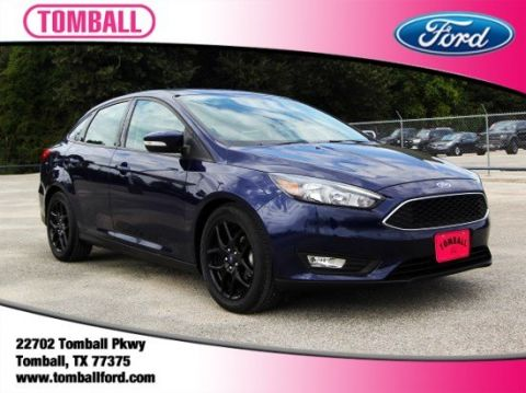 Used Ford Focus SE & Used Cars Trucks SUVs Available Near Houston | Tomball Ford markmcfarlin.com